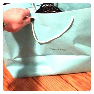 Large Tiffany and Co Shopping Bag